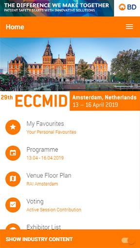 ECCMID 2019 screenshot 1