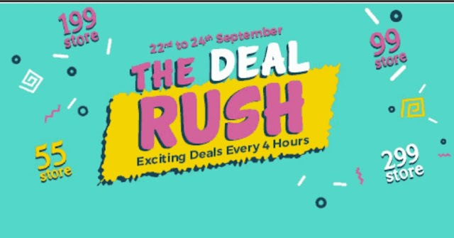 ShopClues 'The Deal Rush Sale' - Buy Products Starting From 55 Rs Only