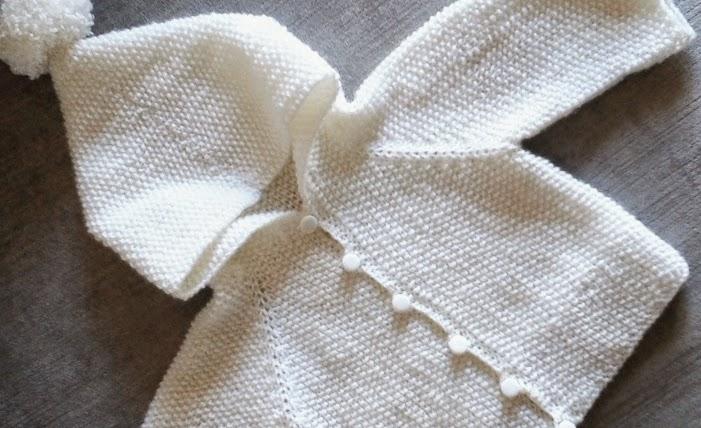 new baby cardigan :: novo casaquinho de bebé