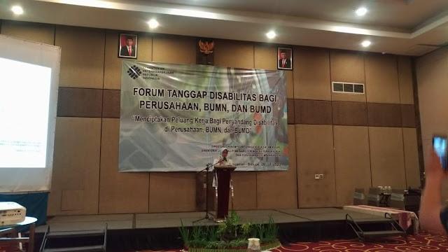 Kementerian Ketenagakerjaan Gelar Forum Tanggap Disabilitas Bagi Perusahaan, BUMN dan BUMD di Kota Bekasi