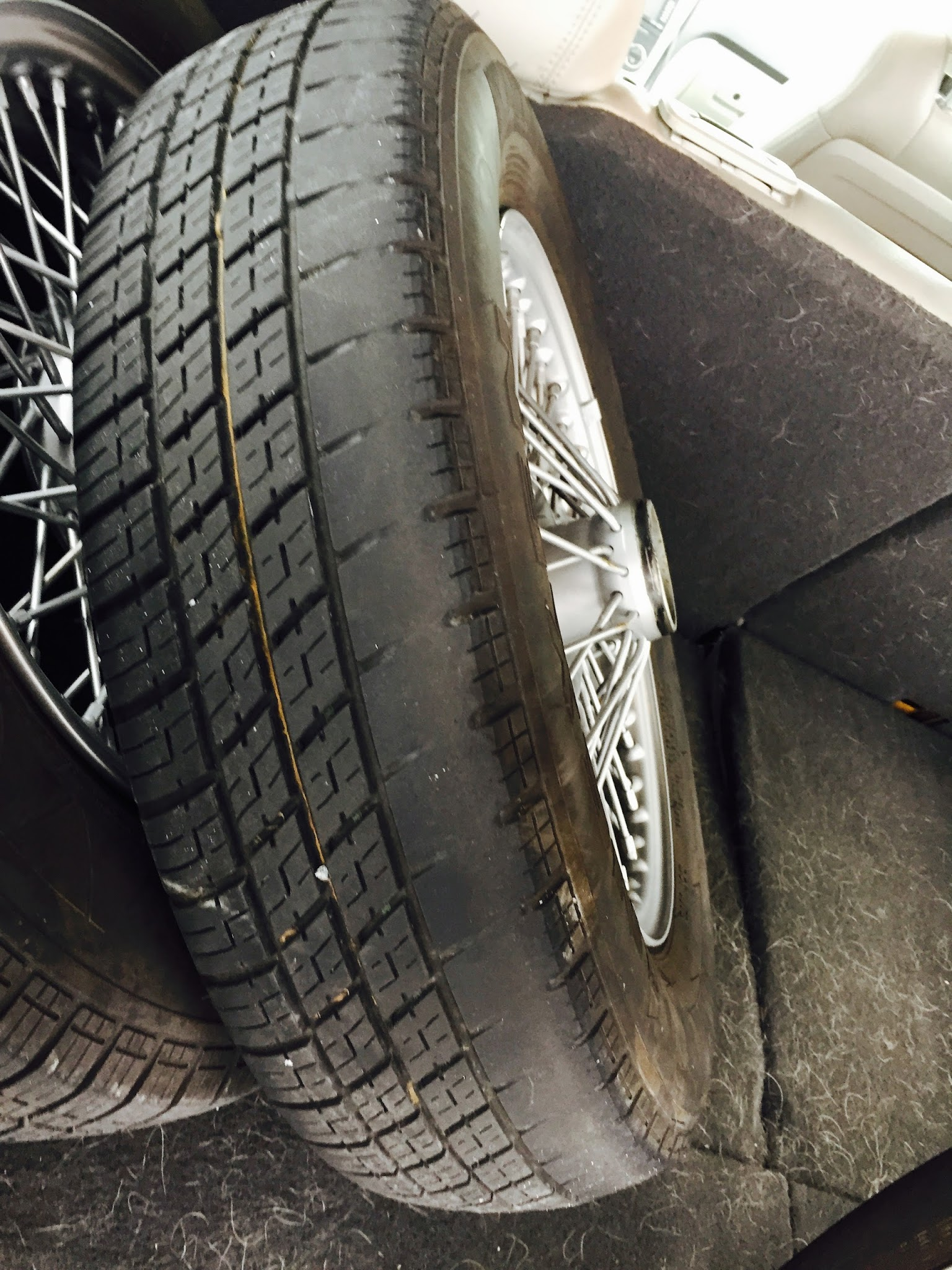 Tire Wear on Outside - Toe Problem? : MGA Forum : MG Experience ...