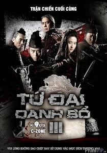 Tứ Đại Danh Bổ 3 - The Four 3 Final Battle poster