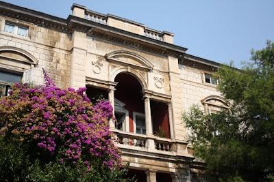Classic Balkans architecture in Dubrovnik Croatia
