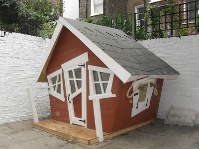 Crooked Red Play House Enchanted Creations Playhouses