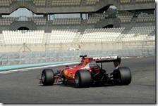 Il test della Ferrari con le gomme Pirelli 2017