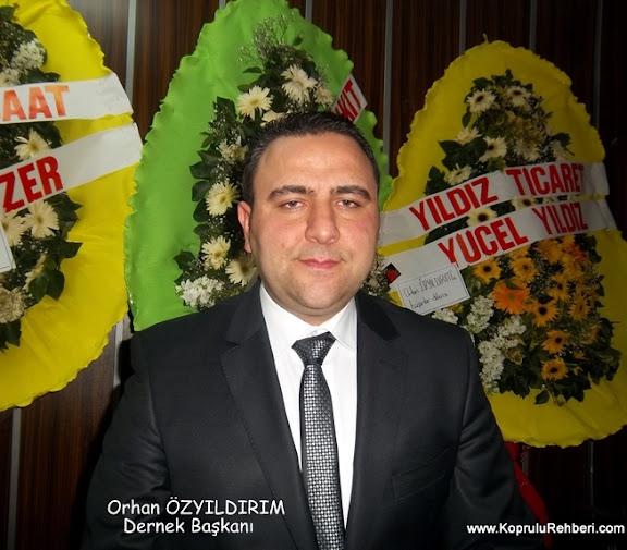Dernek Başkanı Orhan ÖZYILDIRIM