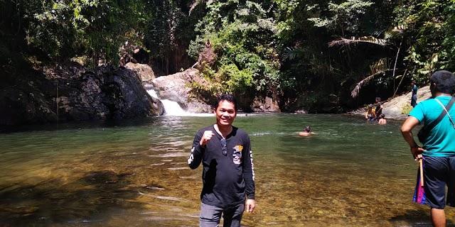 Kendarai Motor Trail, Abdul Hadi Jelajahi Wisata Air Terjun Buntar di Halong
