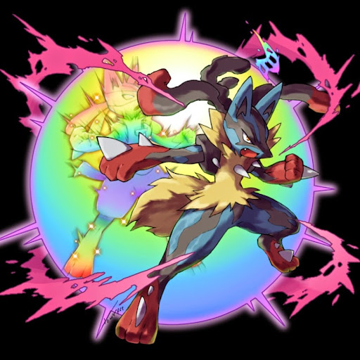 Image result for mega lucario art