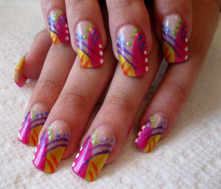 Top 100 Best African Nail Art Designs for 2018 - Fashonails