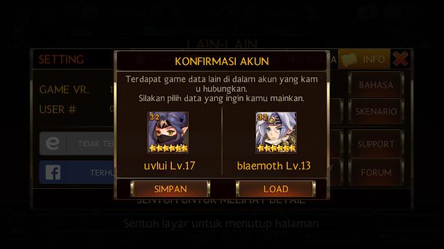 Cara Main Dua Akun Seven Knights Berbeda di Android