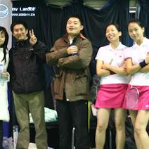 百度羽毛球小组赛之二 photos, pictures