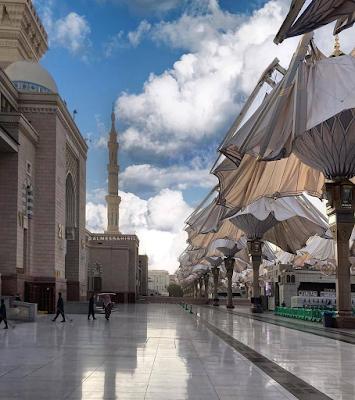 Foto Masjid Nabawi di Madinah 2021