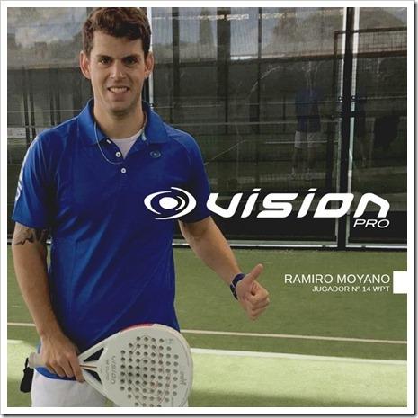 Ramiro Moyano ya es jugador VISION para las próximas dos temporadas.