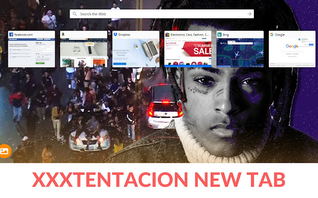 Xxxtentacion Themes-Customize Your Start Page