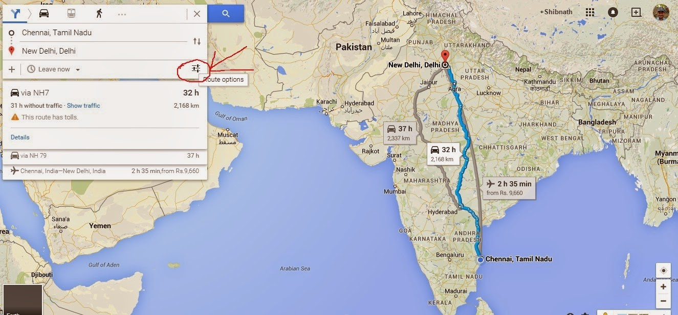 how to put scale on google maps