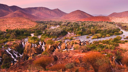 Epupu Falls After Sunset, Namibia.jpg