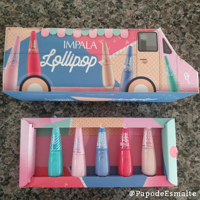 Swatches Coleção Lollipop da Mundial Impala