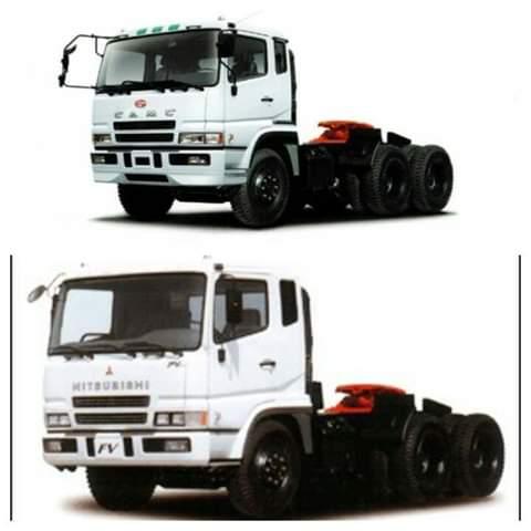 Mengenal Truck CAMC, Saudara Kembar Truck Mitsubishi Fuso Super Great