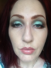 Wearing NYX Cosmetics Prismatic Eyeshadows Look 4_4