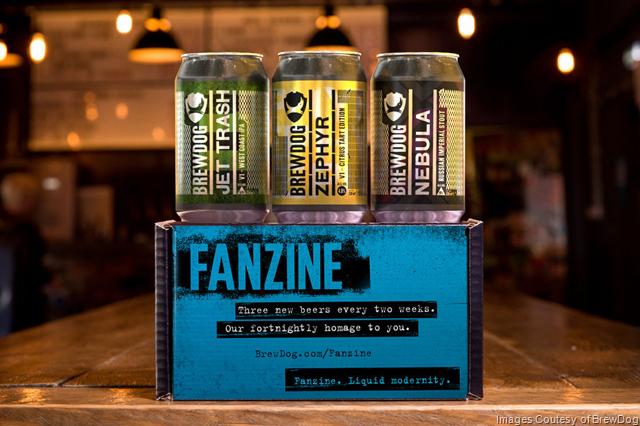 BrewDog Launches New Fanzine Beer Club