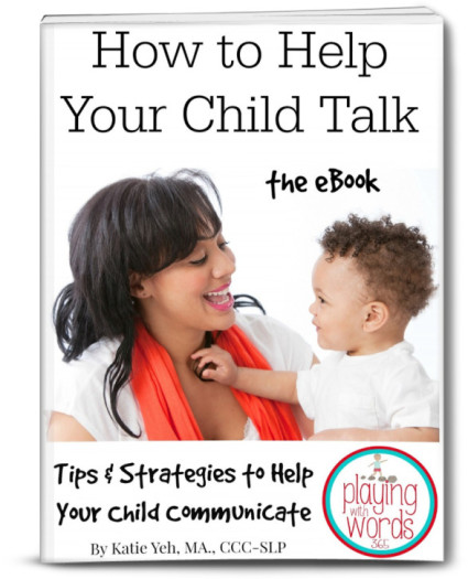 How to Help Your Child Talk eBook Image