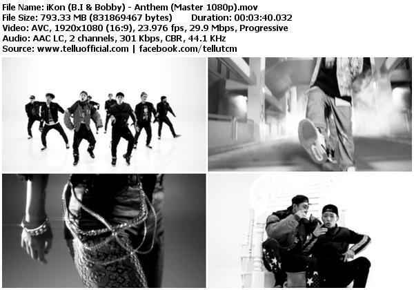 Download [MV] iKon – Anthem [Master HD 1080p]