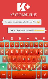 Watermelon Keyboard - náhled