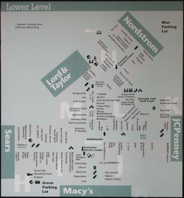 twelve oaks mall map my blog