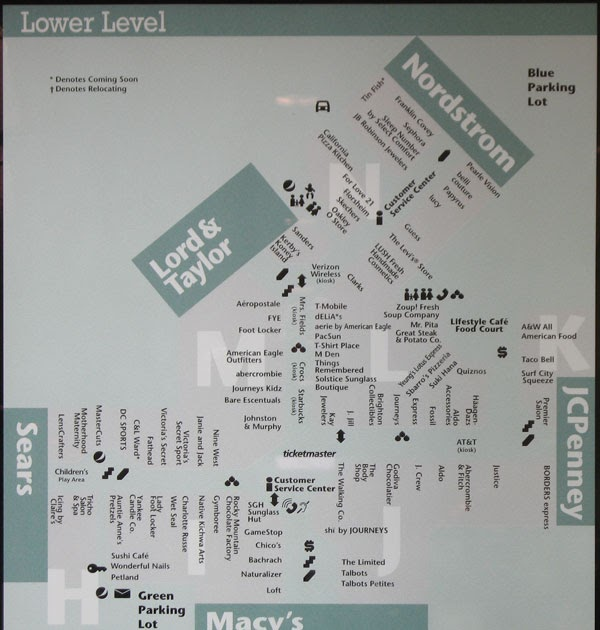 Twelve Oaks Mall Map Map Of Twelve Oaks Mall | World Map 07 Twelve Oaks Mall Map