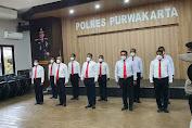 Selamatkan Uang Negara 736 Juta, 11 Personil Satreskrim Polres Purwakarta Diganjar Penghargaan