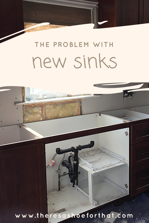 the problem with new sinks