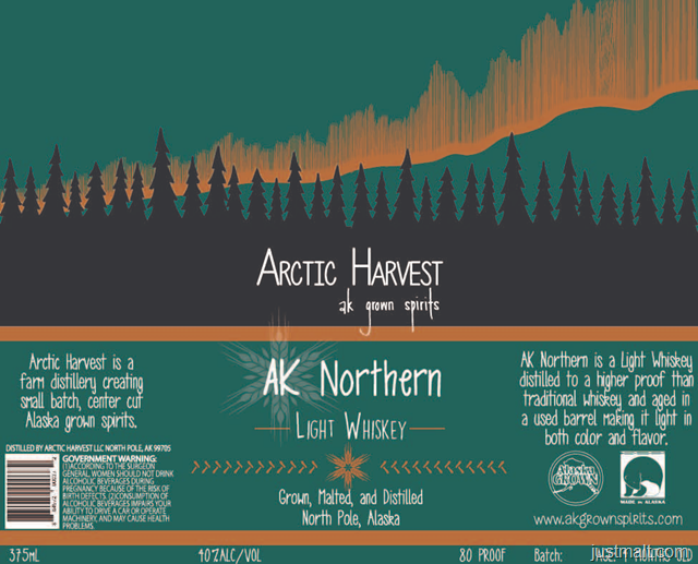 AK Northern Light Whiskey Arctic Harvest
