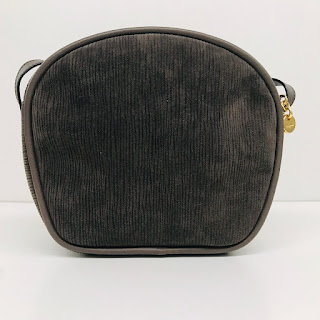 Salvatore Ferragamo Embossed Suede Crossbody Bag