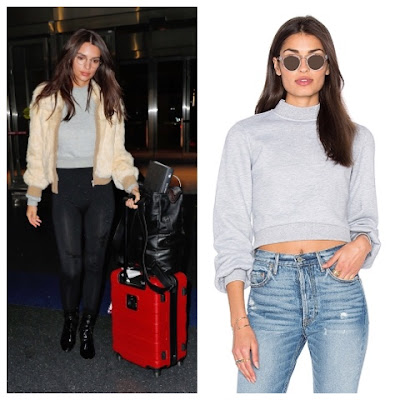 Emily Ratajkowski at JFK Airport on January 24 2017