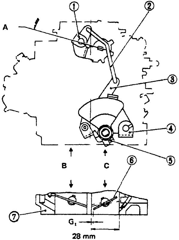 Регулировка системы быстрого холостого хода - механическая воздушная заслонка