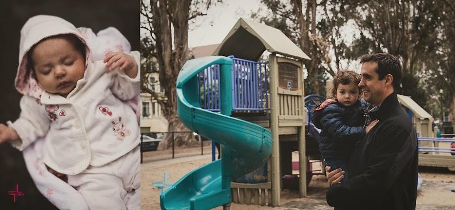 Golden Gate Park Family Portrait