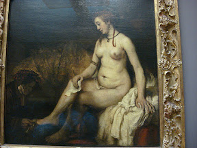 Rembrandt - Bathsheba at her Bath