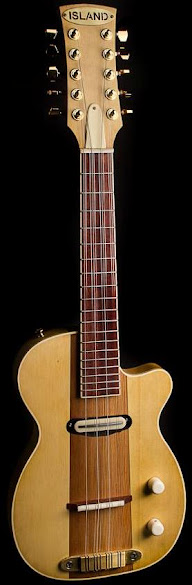 Nic Delisle Island Instrument Manufacture electric tiple ukulele