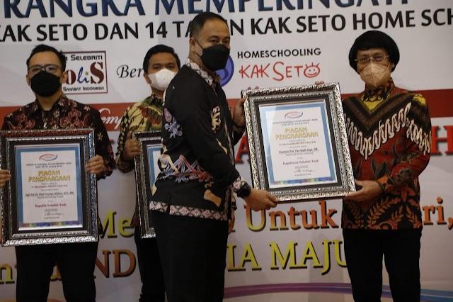 Kapolresta dan Kasatreskrim Polresta Bandar Lampung Raih Penghargaan Bergengsi di Jakarta