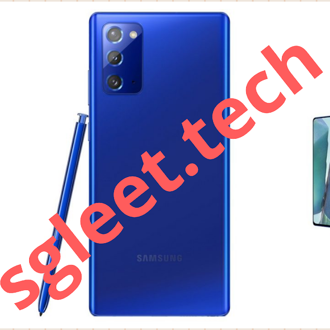 Samsung Galaxy Note20 in Mystic Blue up for pre-booking in India