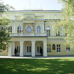 Palác Žofín - vchod