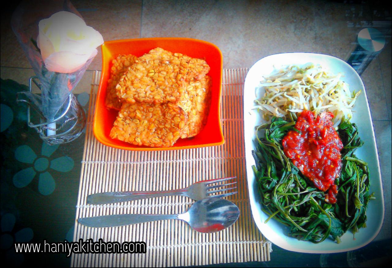 Resep Plecing Kangkung Paling Enak Haniya Kitchen