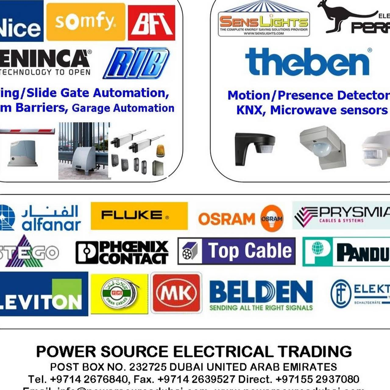 Power Source Electrical Trading Supply Store Mk Wiring Devices Qatar Home Automation