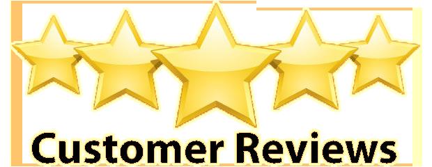 Customer satisfaction reviews