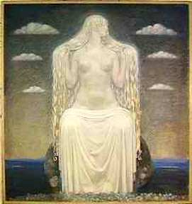 Freja By John Bauer, Asatru Gods And Heroes