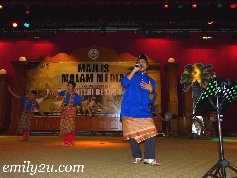 Press Night With MB Perak