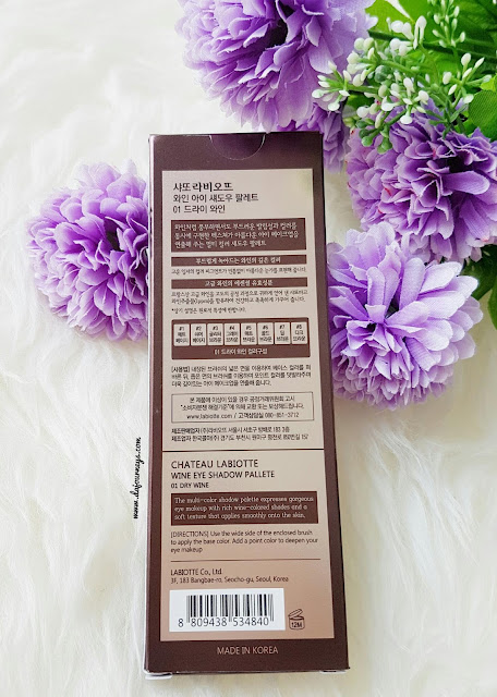 [Review] Labiotte Wine Eye Shadow Palette
