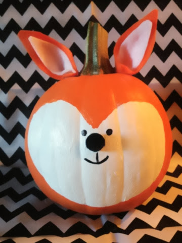 Susan Crabtree What Does The Fox Say Pumpkins