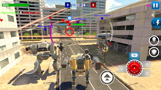 Mech Wars: Multiplayer Robots Battle fond d'écran 1