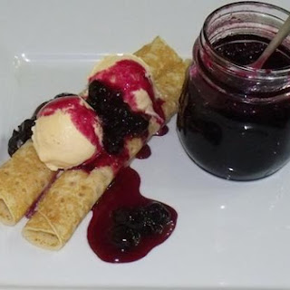 Easy Blueberry Sauce.